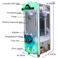 China Stable Performance Toy Crane Vending Machine / Doll Catching Machine on sale