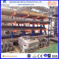 powder coated and galvanized Q235b steel arm rack for warehouse storage
