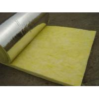 China 25 mm - 185 mm Thickness Glass Wool Blanket With Aluminum Foil Water Proof on sale