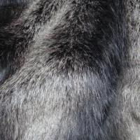 China Long Plush Top Color Fading/Dyed Polished Faux Fur Fabric with 5 to 60mm Pile on sale