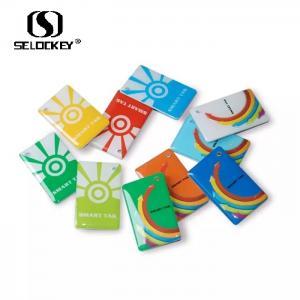 China 13.56mhz Plastic NFC Jelly Epoxy Keyfob Rfid Smart Card on sale