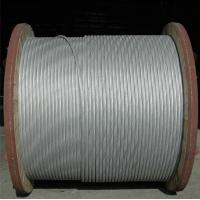 China Anti Static Aluminium Clad Steel Wire , Aluminum Stranded Wire ISO 9001 Certification on sale