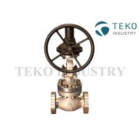 Best Class 150 SS BS 1873 Globe Valve Flange Connection Bolted Bonnet Metal Seated Worm Gear Operated wholesale