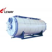 Best 0.35MW Horizontal Gas Fired Boiler , Gas Hot Water Tank Sufficient Heated Surface wholesale
