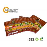 China Printing Glossy Laminated Packaging Custom Product Labels For Chicken Spice Seasoning on sale