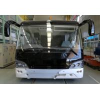 China 51 Passenger 4 Stroke Diesel Engine Airport Limousine Bus 4 doors 2.7m width mini bus on sale
