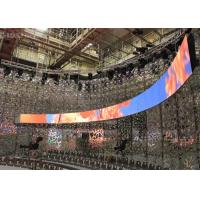 Best Rubber Flexible Billboard LED Display Curved Advertising Board Indoor P3 Front Servicing wholesale