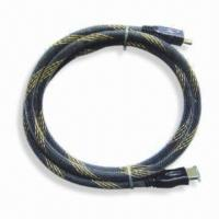 Best HDMI Cable Assembly with Durable Outer Nylon Braid, 10m Length and 6.0mm Diameter wholesale