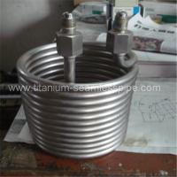 China Stainless steel Cooling coil / titanium Cooling coil on sale