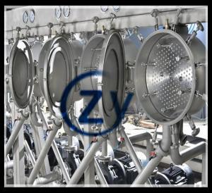 Best Fresh Cassava Tapioca Starch Machine / Tapioca Processing Plant Multicyclone wholesale