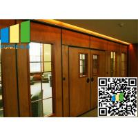 Best Acoustic Rate 45 Db Commercial Sliding Doors Wall Partition 3.346 Inch Thickness wholesale