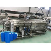 Best Multi Function Tomato Sauce Production Line Water Saving With Safe Control wholesale