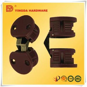 Best Popular Nylon round hinge/ concealed hinge for wooden door/ invisible hinge Hidden door hinges factory  (YD-141) wholesale