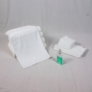 Best 34x75cm White Cotton Face Towel wholesale