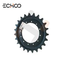 China NANTE Mini Excavator Chain Sprocket Wheel NT45  Mini Excavator Sprocket Track Steel Mini Track Gear on sale