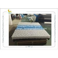 Best Mattress Pocket Spring Unit With White / Blue Colour Non Woven Fabric Cover wholesale