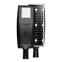 2020 New lithium battery all in one solar led street light 20w 30w 40w 50w,