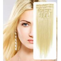 Best Natural 100% Virgin Clip In Hair Extension Silky Straight Human Hair wholesale