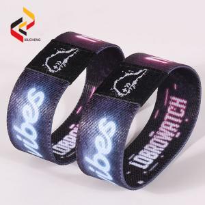 Best Custom printing elastic wristband Passive Flexible Stretch RFID NFC Wristbands wholesale