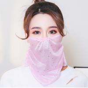 Best Summer Sunscreen Anti Dust Reusable Female Face Mask wholesale
