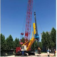 China 199 Kw Hydraulic Pile Machine SD2200 / Drilling Rig Equipment Energy Saving on sale