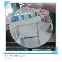 Best Round Oval Arch 4mm Decorative Glass Mirrors Water Proof With Beveled Edge wholesale
