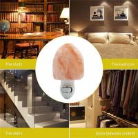 Best Euro Hand Carved Natural Shape Pure Crystal Himalayan Salt Rock Night Light Wall Lamp Hotel Decoration Air Purifier wholesale