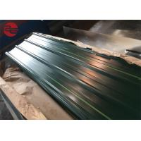 Best Astm A653 Corrugated Roof Sheets With Zinc Coating 40 - 200g / M2 Roof wholesale