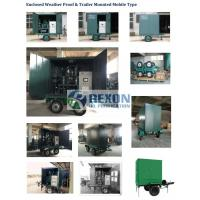 Best Fully Enclosed Vacuum Transformer Oil Purification Equipment Model ZYD-W-100(6000LPH) wholesale