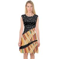 Cheap Knit Jersey Fabric Womens Casual Summer Dresses A Line Midi Dress For Holiday for sale