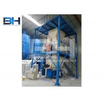 China High Speed Dry Mortar Plant , Semi Automatic Dry Mix Mortar Production Line on sale
