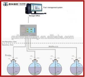 Best fuel sensor height gauge diesel fuel tank level gauge level transmitter system digital sensor fuel measuring instrument wholesale