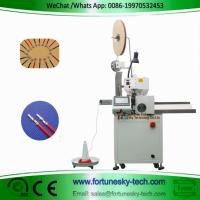 Best Fully Automatic Wire Cutting Single End  Stripping Single End Crimping Machine Custom For AWG10 Wire wholesale