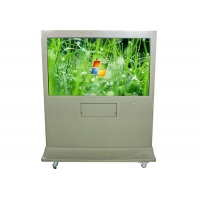 Best 16.7M Color LCD Advertising Display Screen 65 Inch 1488*868mm Network Advertising Player wholesale