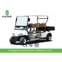 Best Multipurpose 4 Passenger Club Car Electric Golf Buggy With Rear PP Plastic Cargo Box wholesale