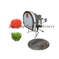 China Hot Pepper Vegetable Processing Equipment Adjustable Green Onion Cutter Machine on sale