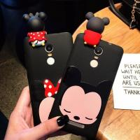 Best Hot Selling 3d Soft PVC Mickey Minne Silicone Phone Case Phone Cover , Black Color , Best Christmas Gift wholesale