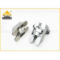 China Italy Type Concealed Internal Three Way Hinge For Hidden Door / Cupboard on sale