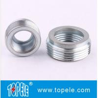 "China Electrical IMC Conduit And Fittings 3/4"" to 1/2"" Zinc Plated Steel Reducing Bushing, Threaded Reducer on sale"