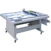 Best Automatic Flatbed Cutting Plotter 1 - 500 Times Repeating With Double HP45 Heads wholesale