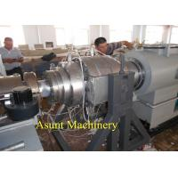 China Drainage / Inlet PVC Pipe Making Machine Double Pipe Extrusion Machine Dia 16Mm - 110mm on sale