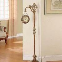 Best Decorative Antique Floor Clock, Made of Metal and Resin wholesale