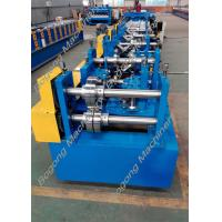 Best Automatic Cz Purlin Roll Forming Machine Post Punching Post Cutting wholesale
