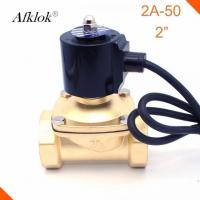 Best 11/4 Inch Water Fountain Solenoid Valve 220 Volt Brass Normally Closed IP68 wholesale