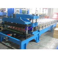 Best Metal Glazed Tile Roll Forming Machine , Corrugated Roofing Sheet Making Machine wholesale