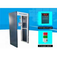 China Infrared Induction Temperature Measurement Security Door 30W Long Lifetime on sale