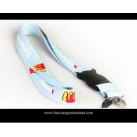 China Cheap 20*1000mm custom heat transfer printed sublimation polyester lanyard on sale