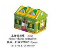 House Money Tin Box