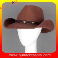 Best 4940554 Sun Accessory customized  winner  fashion 100% wool felt cowboy  hats, unisex hats and caps wholesaling wholesale
