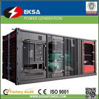 Best 1250kVA power generator with Cummins diesel engine silent/soundproof Container type for heavy duty designed. wholesale